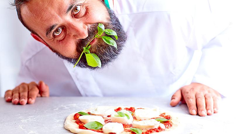 Des spécialistes de la pizza